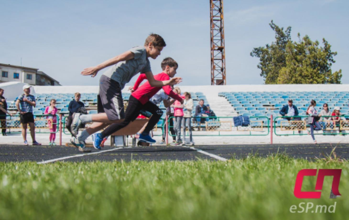 лёгкая атлетика, бег