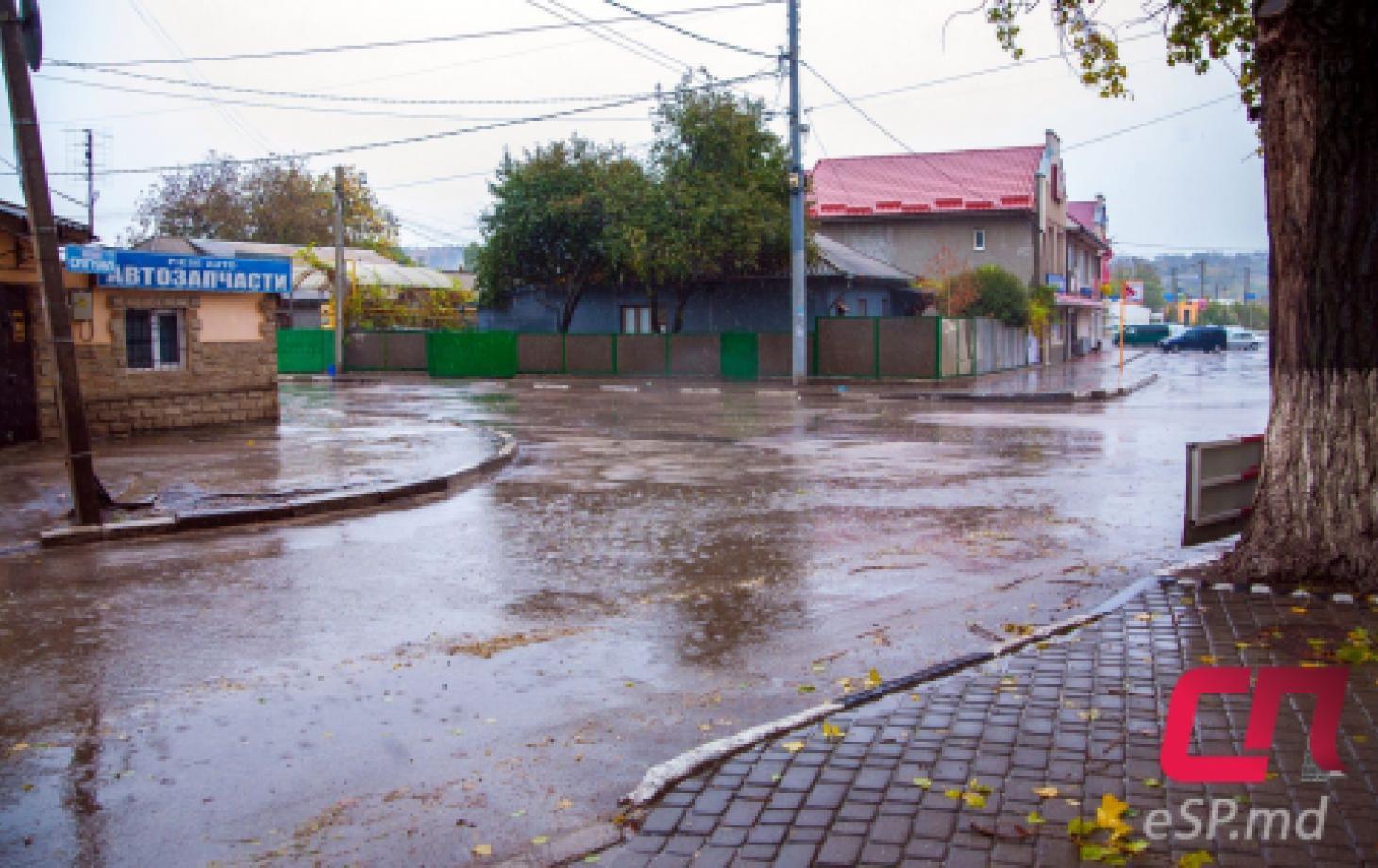 Перекрёсток ул. Лупу и ул. Кишинёвской