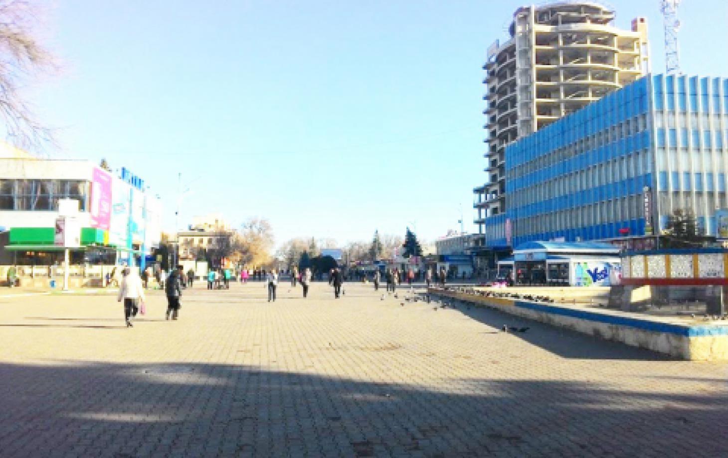 Бельцы, Центральная площадь, центр, Достопримечательности
