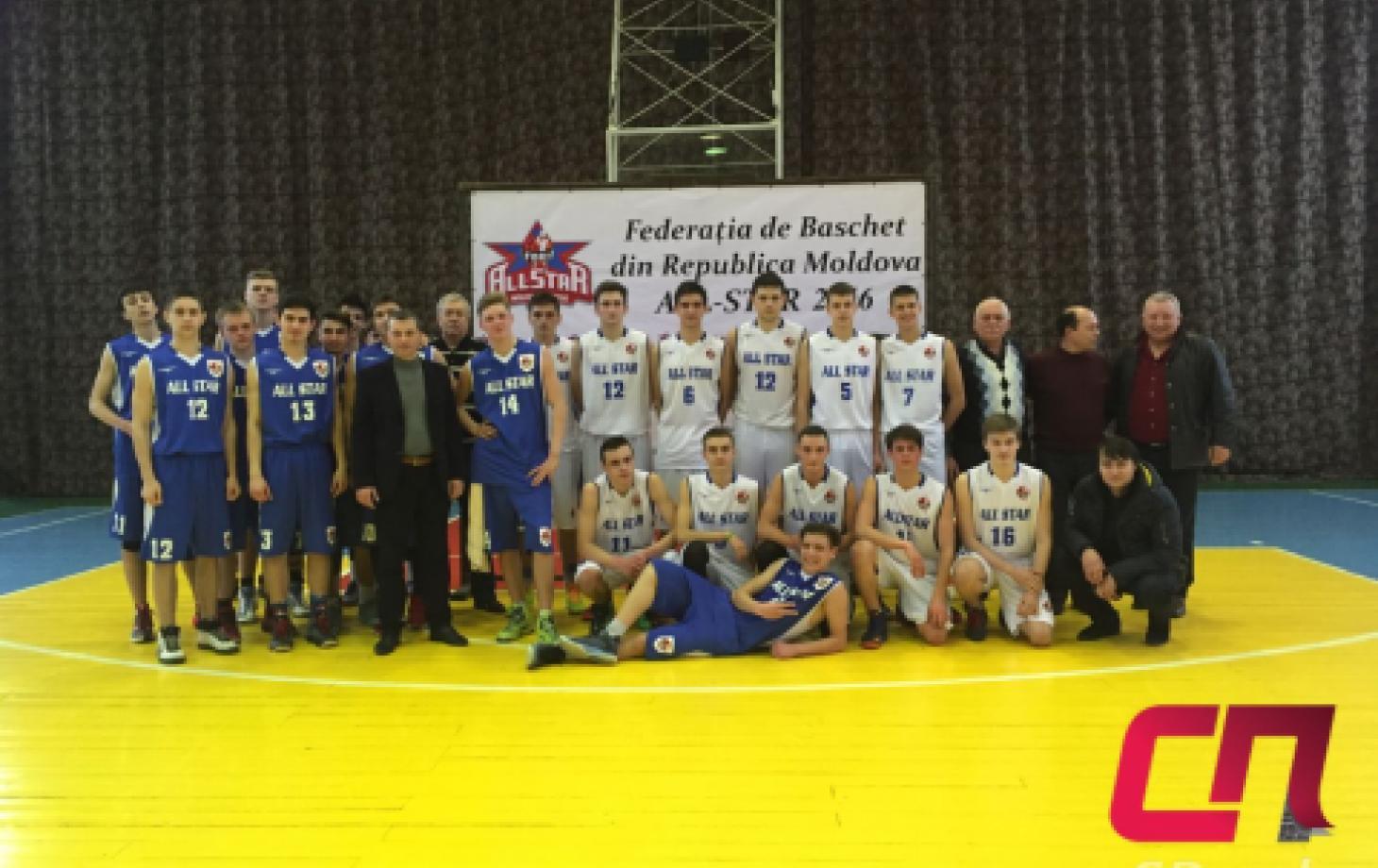 Баскетбол, Бельцы, матч всех звёзд