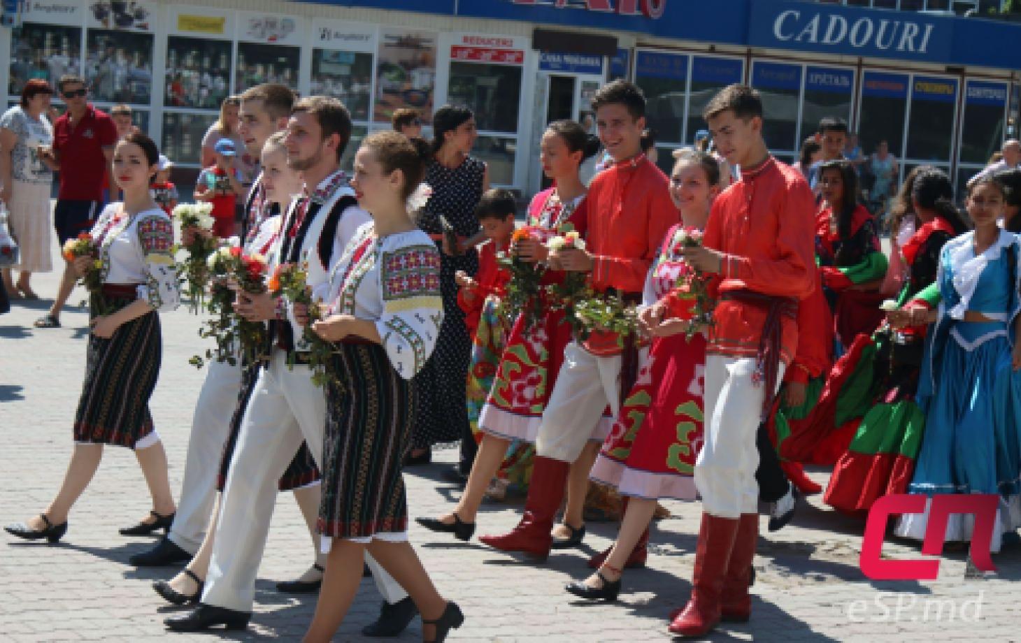 День национального костюма в Бельцах