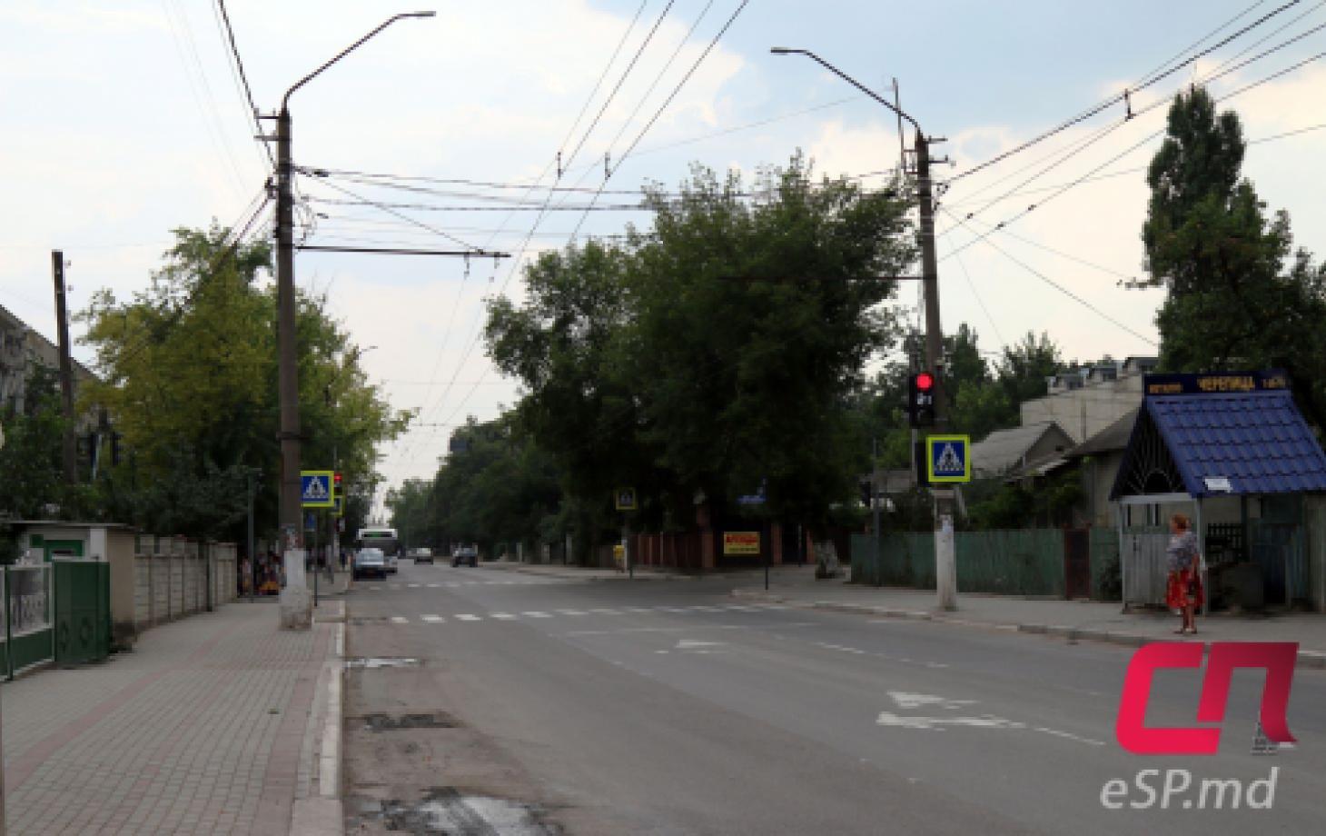 Перекрёсток улиц Бориса Главана и Каля Ешилор