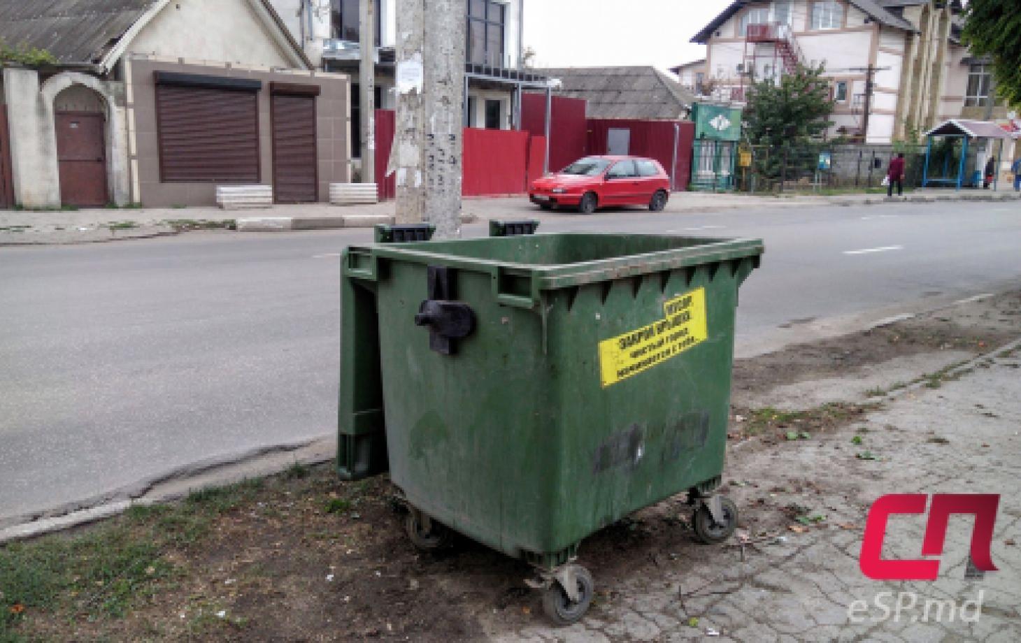 Мусорный контейнер, вывоз мусора
