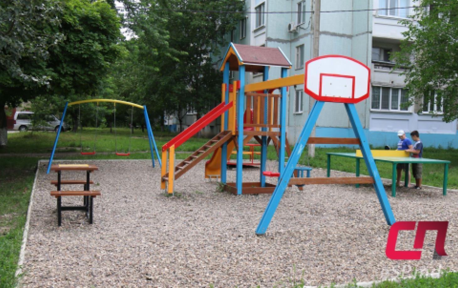 В Бельцах установлено 10 новых площадок.
