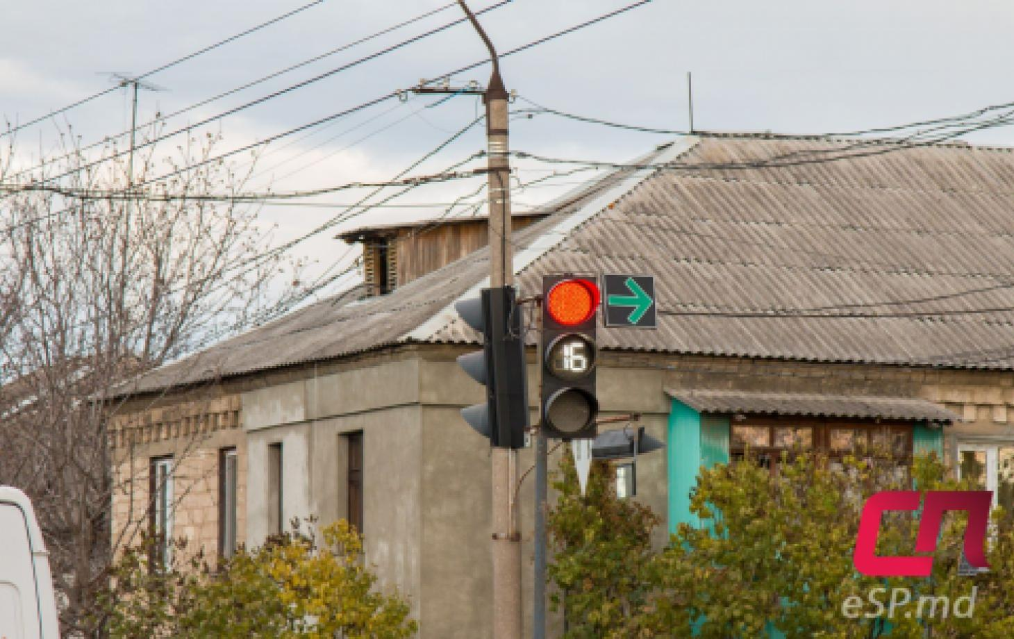 Светофоры в Бельцах