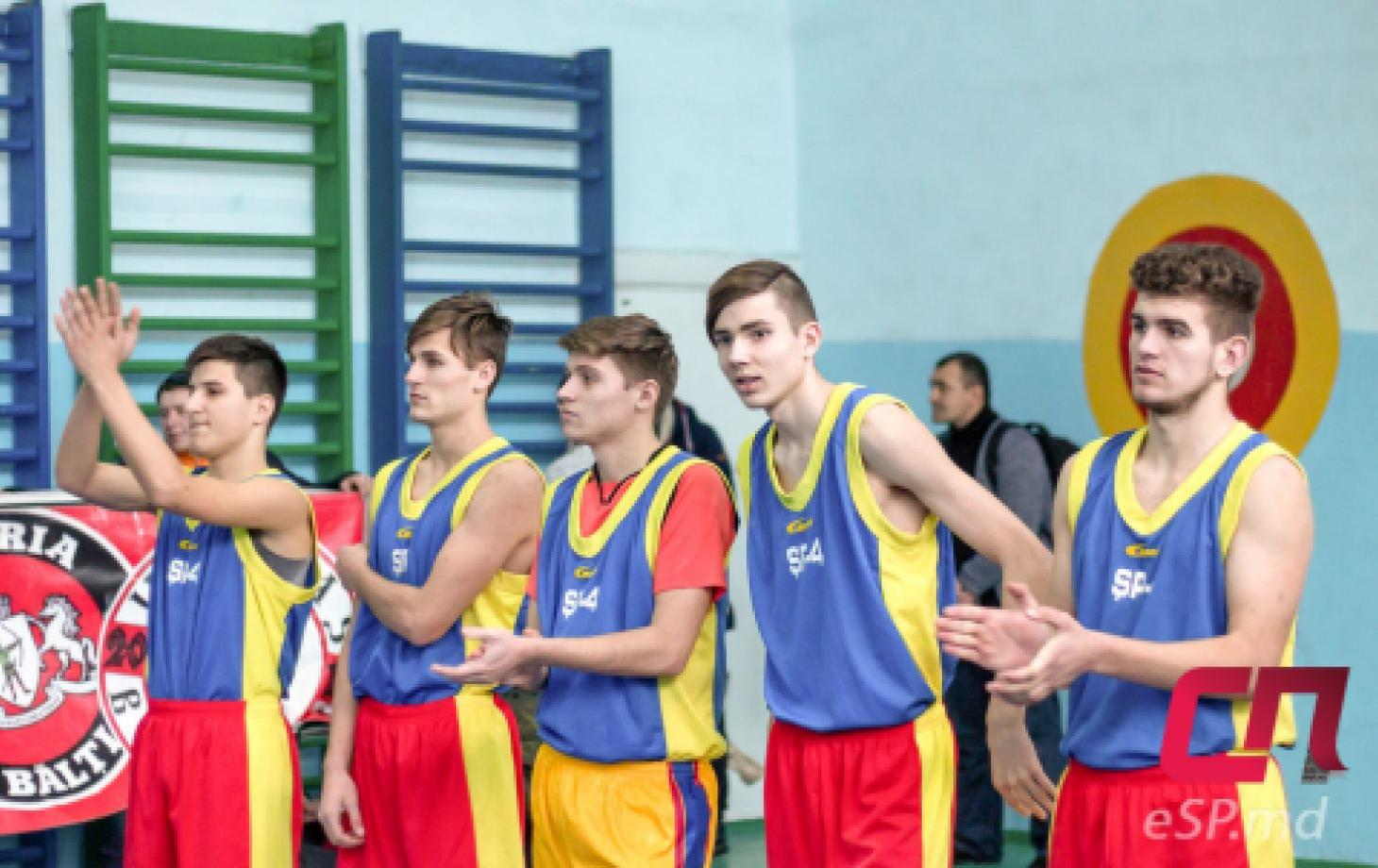 Турнир по баскетболу «Жизнь без наркотиков» в Бельцах