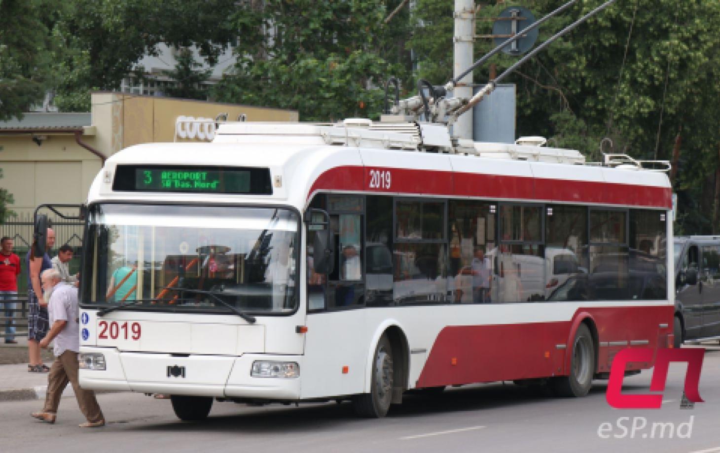 Троллейбус №3, Бельцы