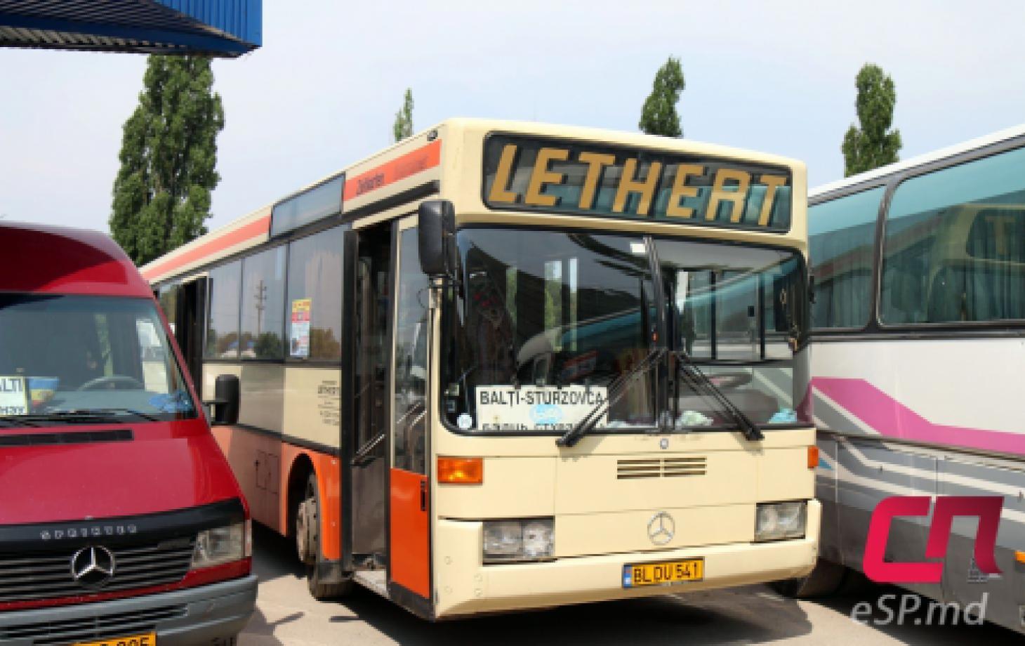Автобус Бельцы - Стурзовка