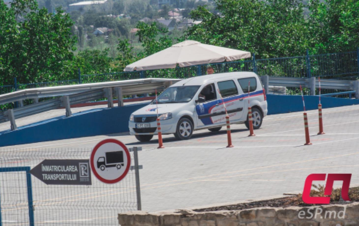 Экзамен на получение водительских прав в Бельцах. Автодром в МРЭО