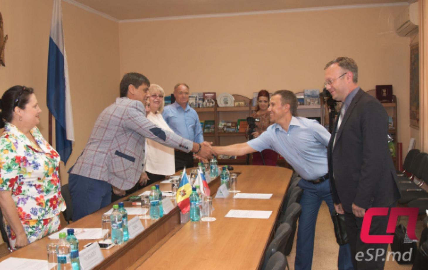 делегация из Нижнего Новгорода в Бельцах