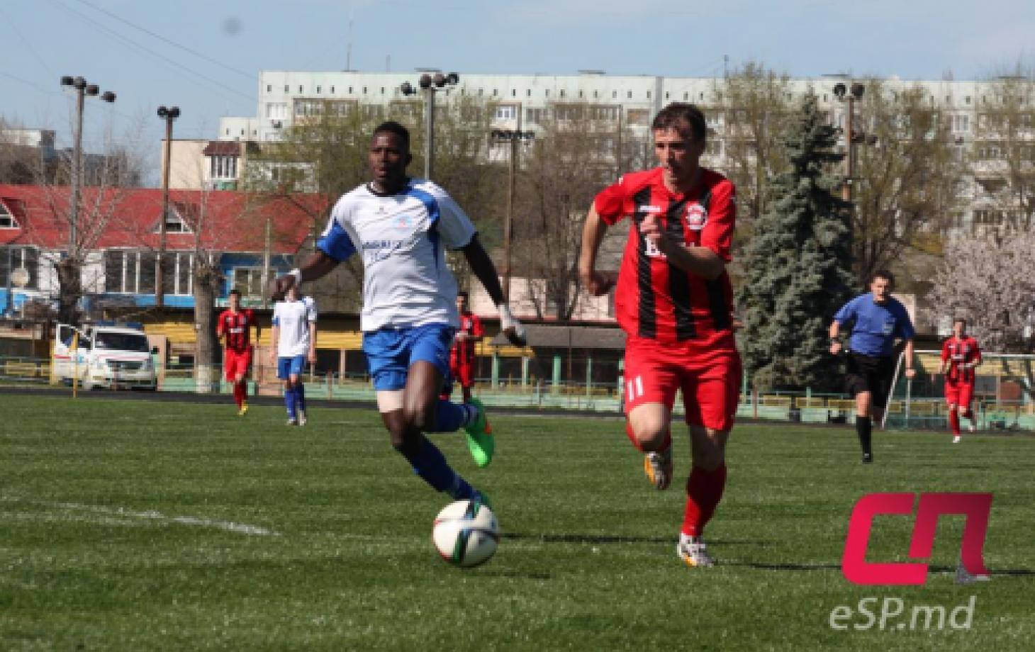 Футбол, Бельцы Заря - Саксан