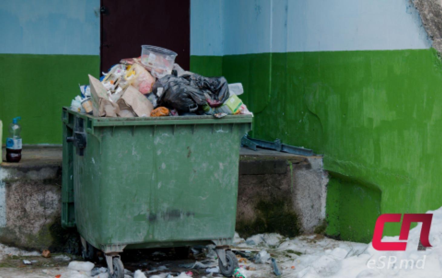 Контейнер, вывоз мусора в Бельцах