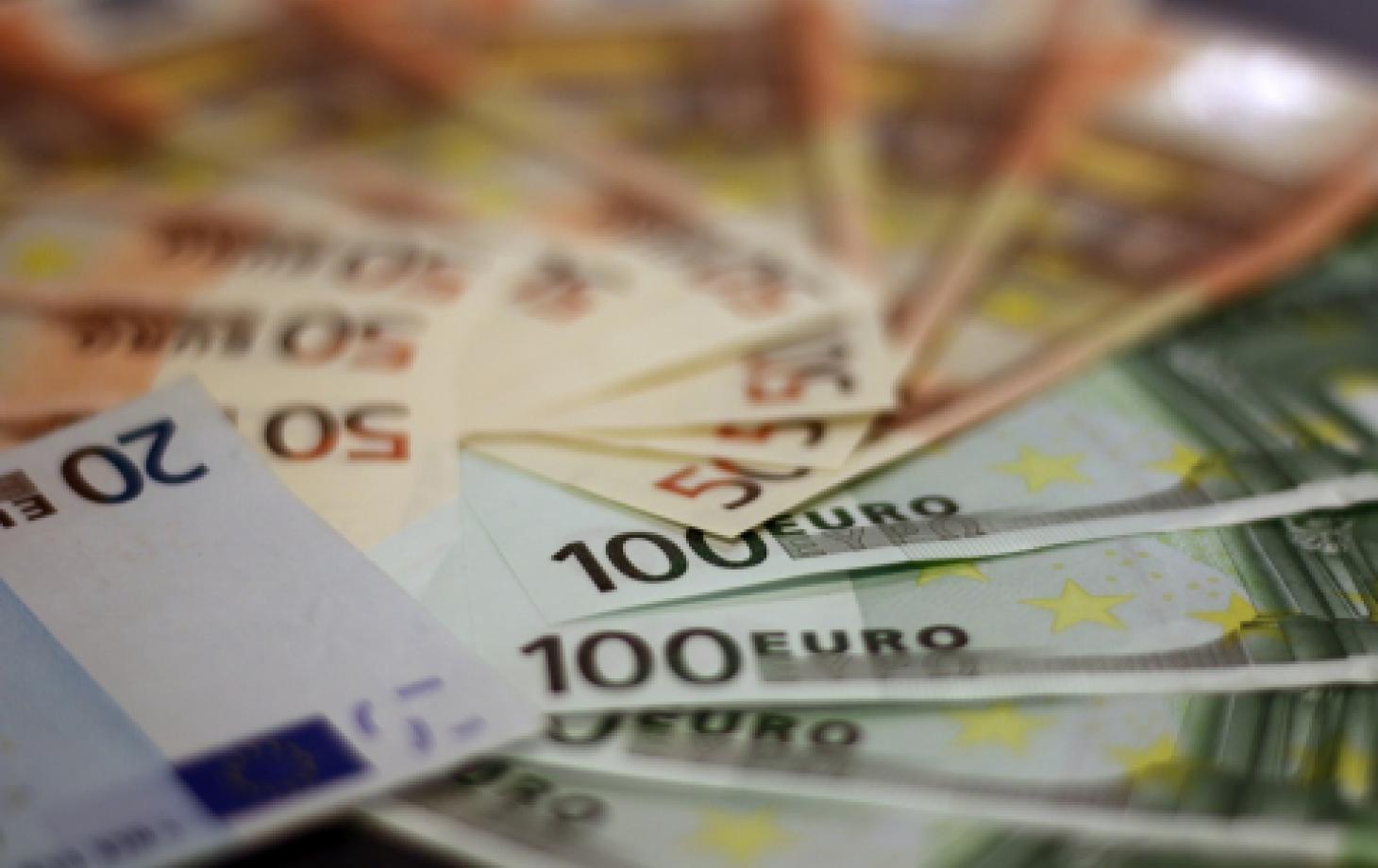 Деньги, банкноты евро