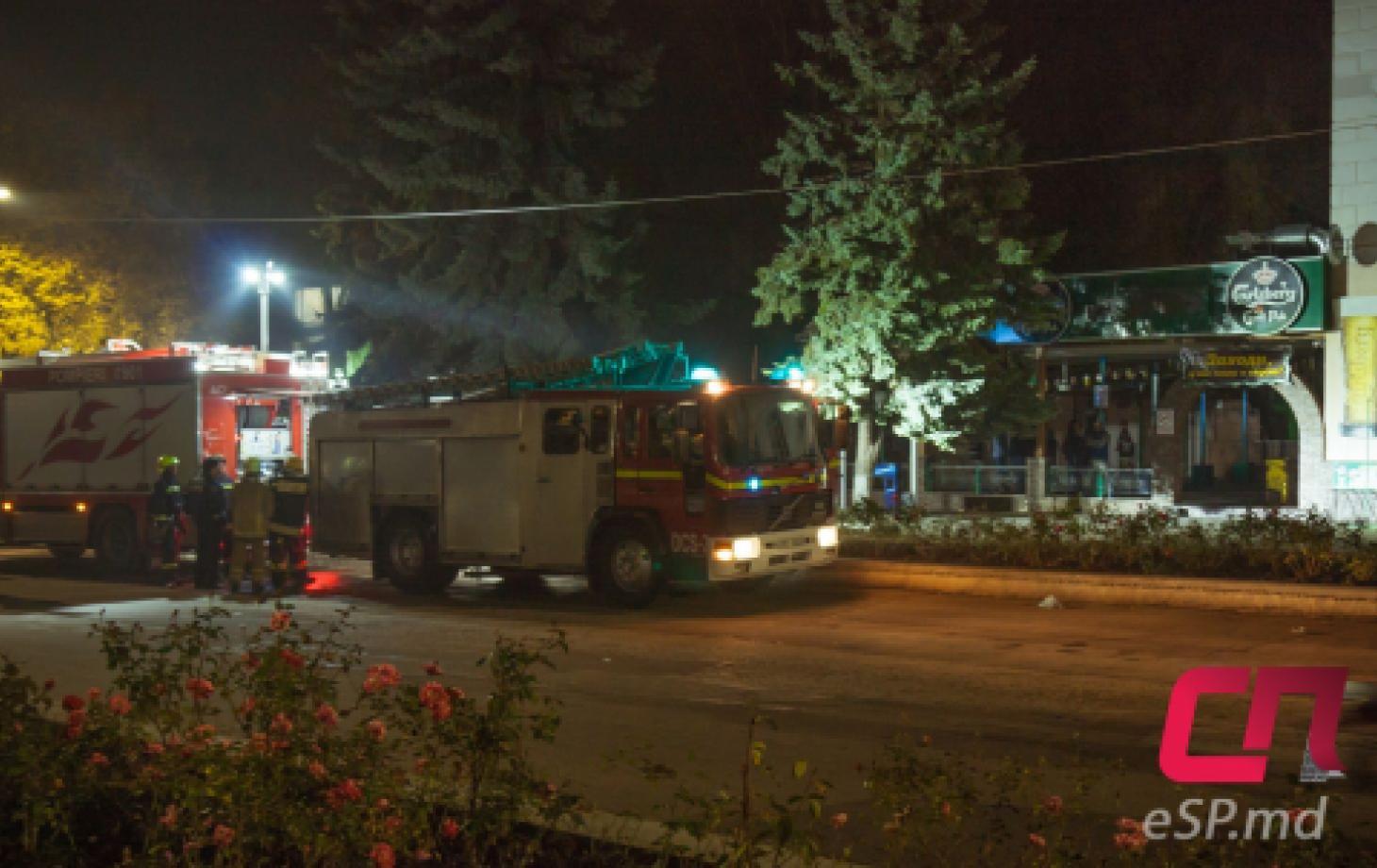 Пожар в Карлсберге в Бельцах