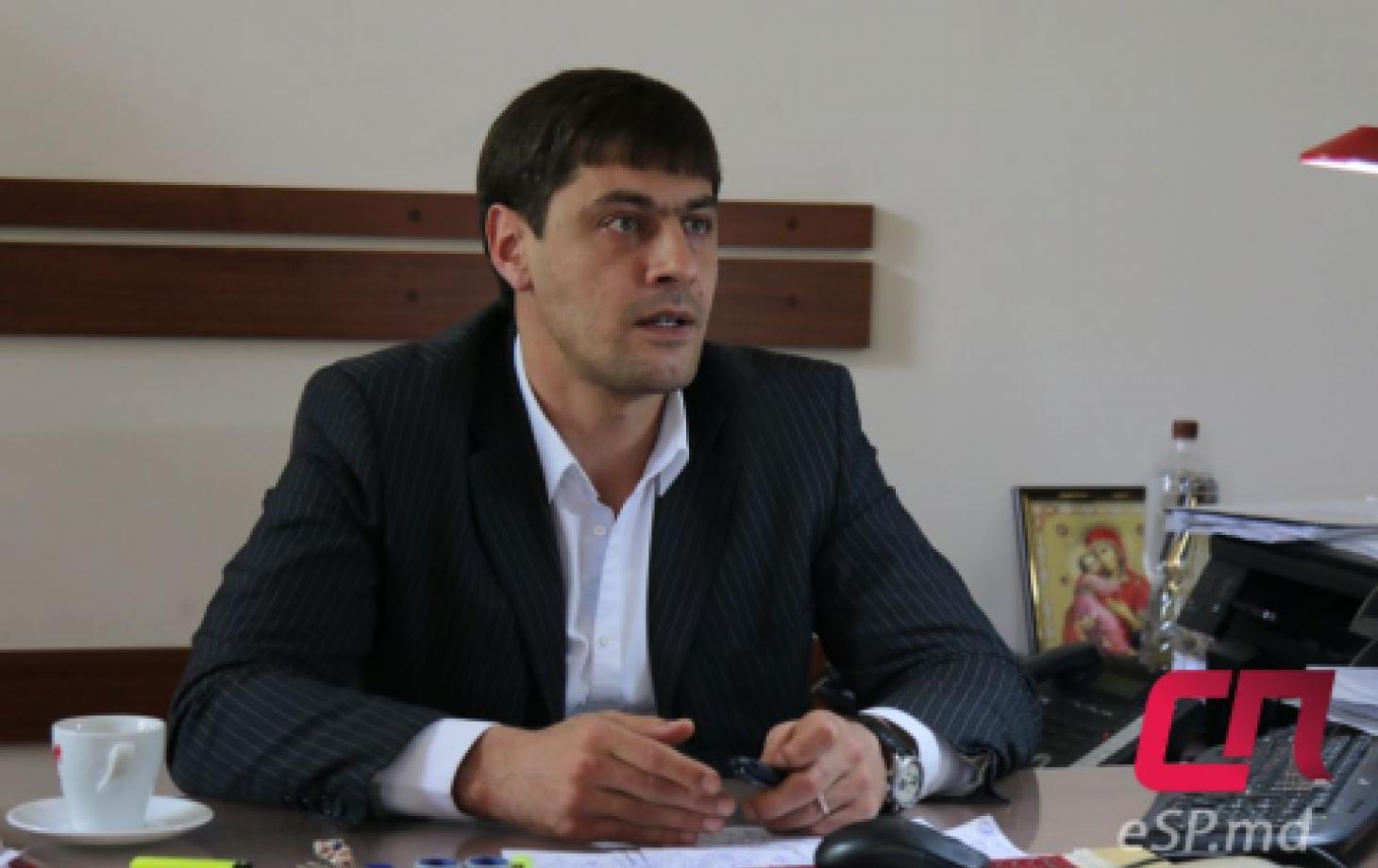 Игорь Шеремет - заместитель примара Бельц по вопросам коммунального хозяйства