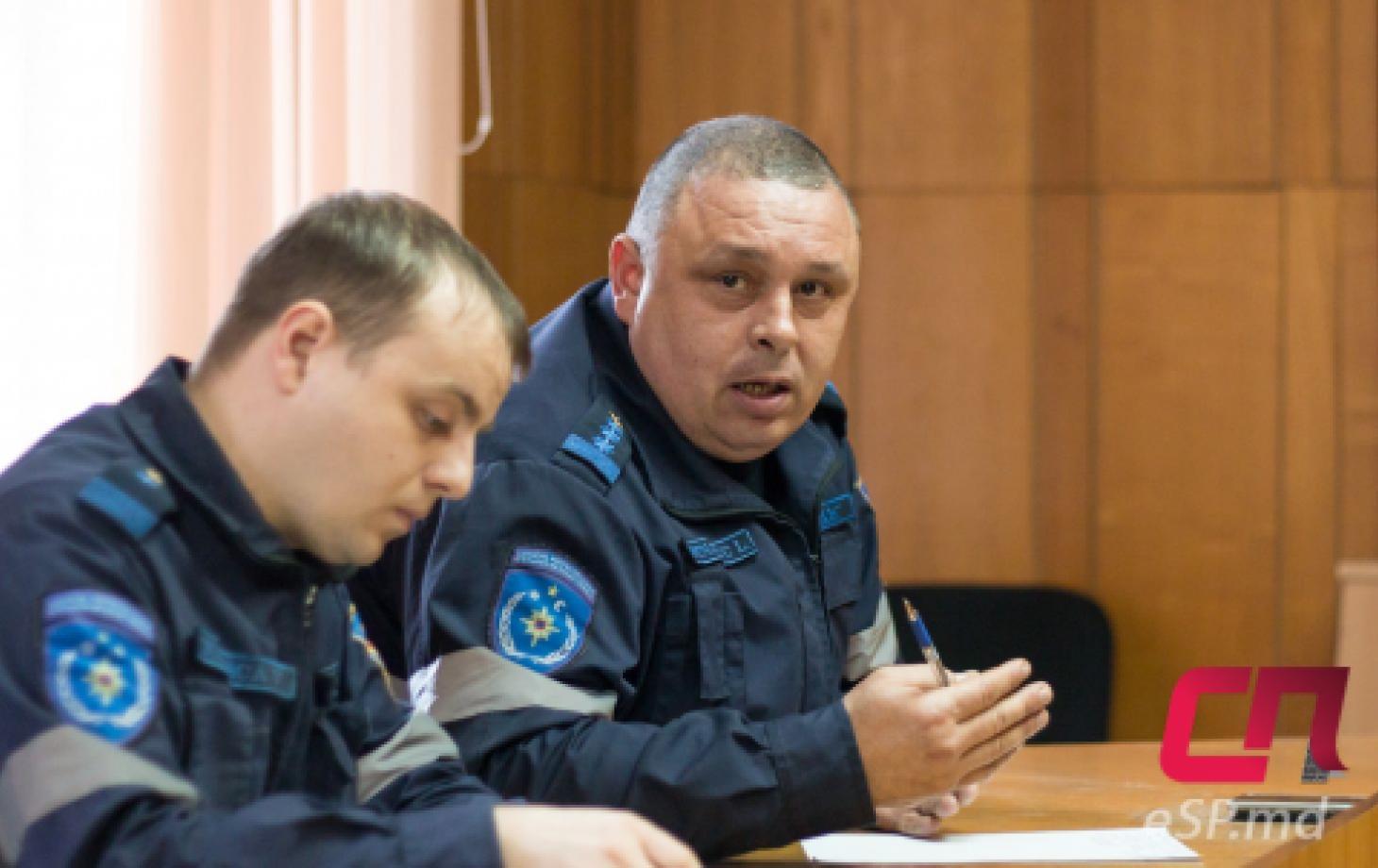 Начальник бельцкого Инспектората по ЧС Лилиан Ботнарюк