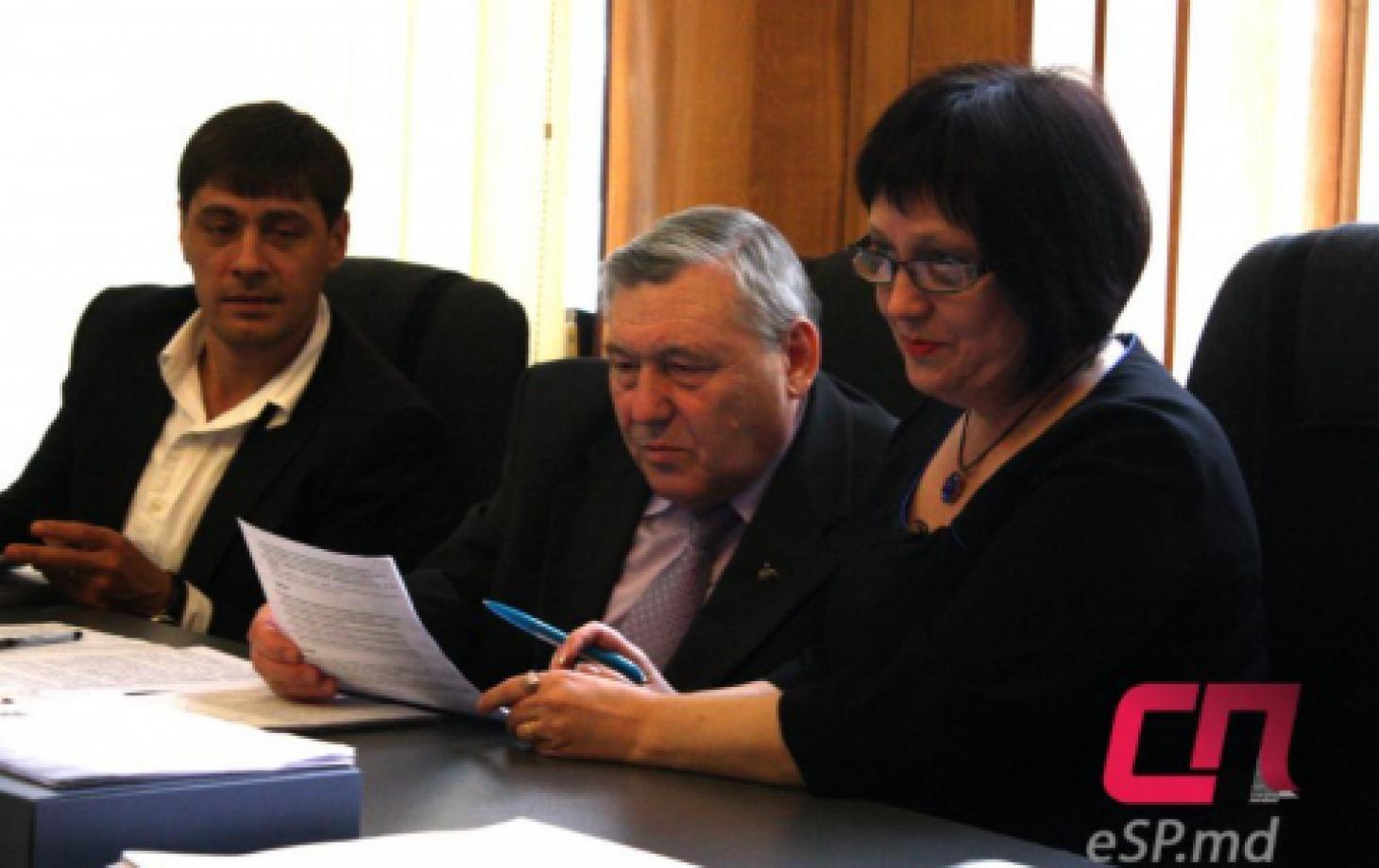 Вице-примары Игорь Шеремет, Леонид Бабий, Лилия Сава