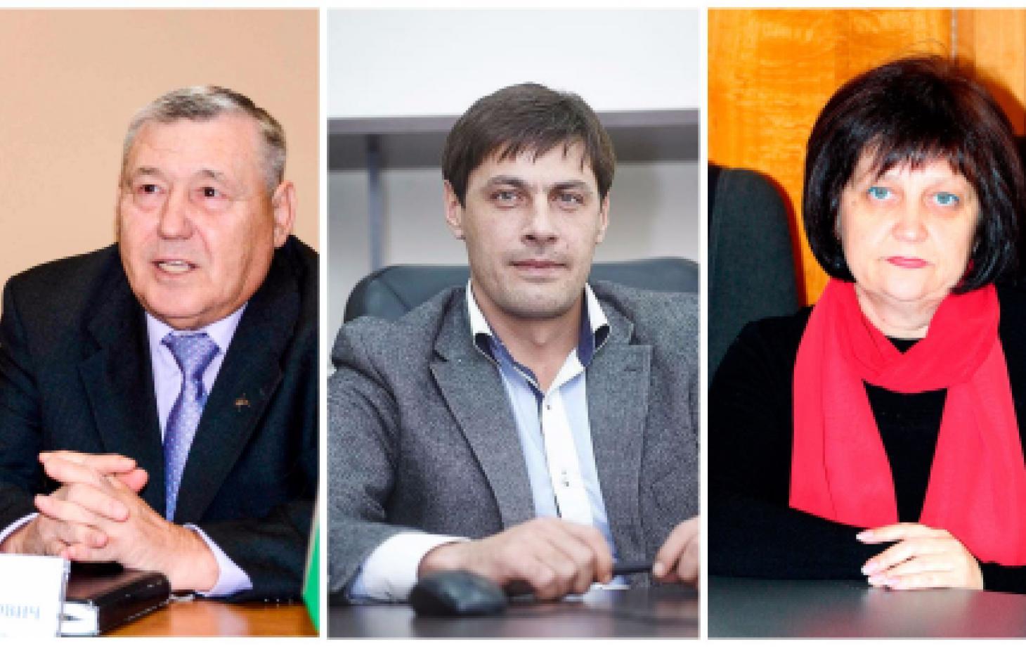 Вицепримары Леонид Бабий, Игорь Шеремет, Лилия Сава