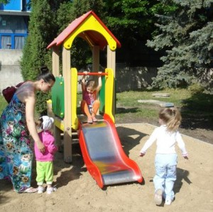 Такую горку установят на 17 детских площадках в разных районах Бельц