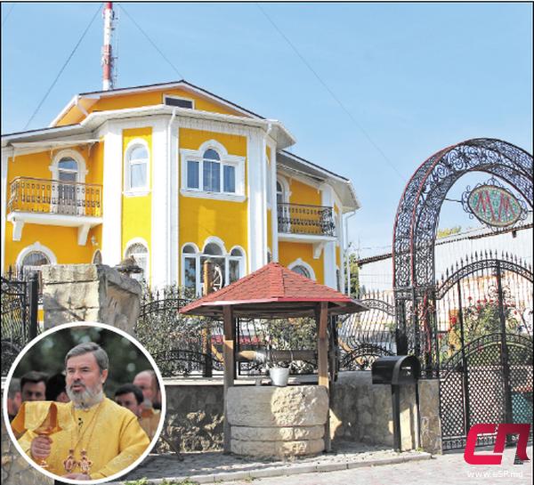 Дом, в котором живёт епископ Маркелл   СП - Новости Бельцы Молдова 178175103ed